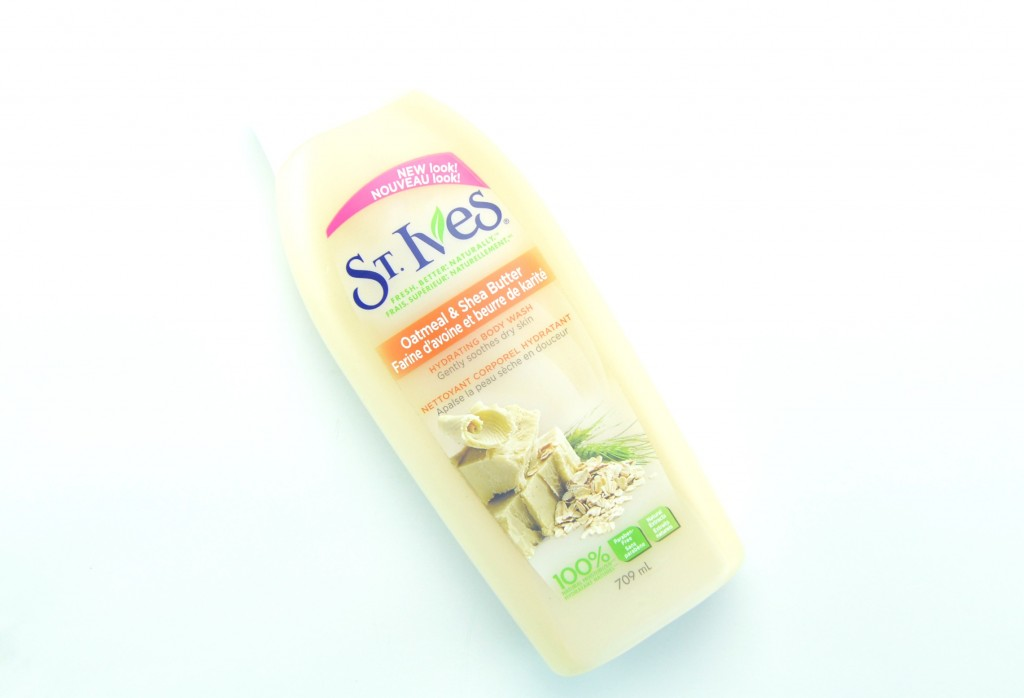 St. Ives body wash, Oatmeal body wash, Shea butter shower gel, Body Wash