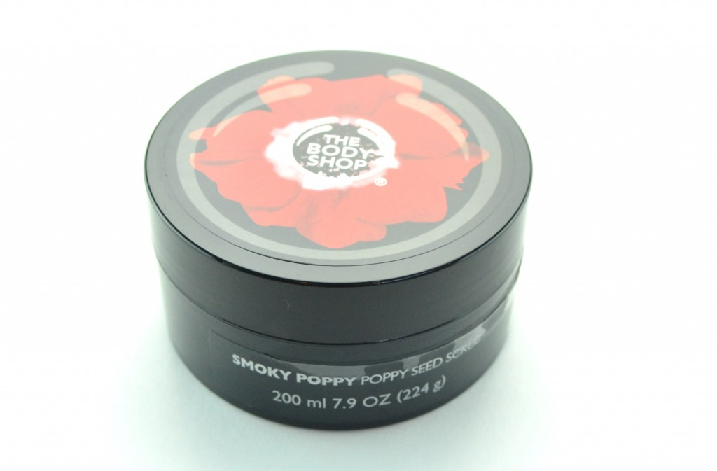 The Body Shop Smoky Poppy, body shop scrub, The Body Shop Smoky Poppy Poppy Seed Scrub, poppy seed scrub, the body shop collection