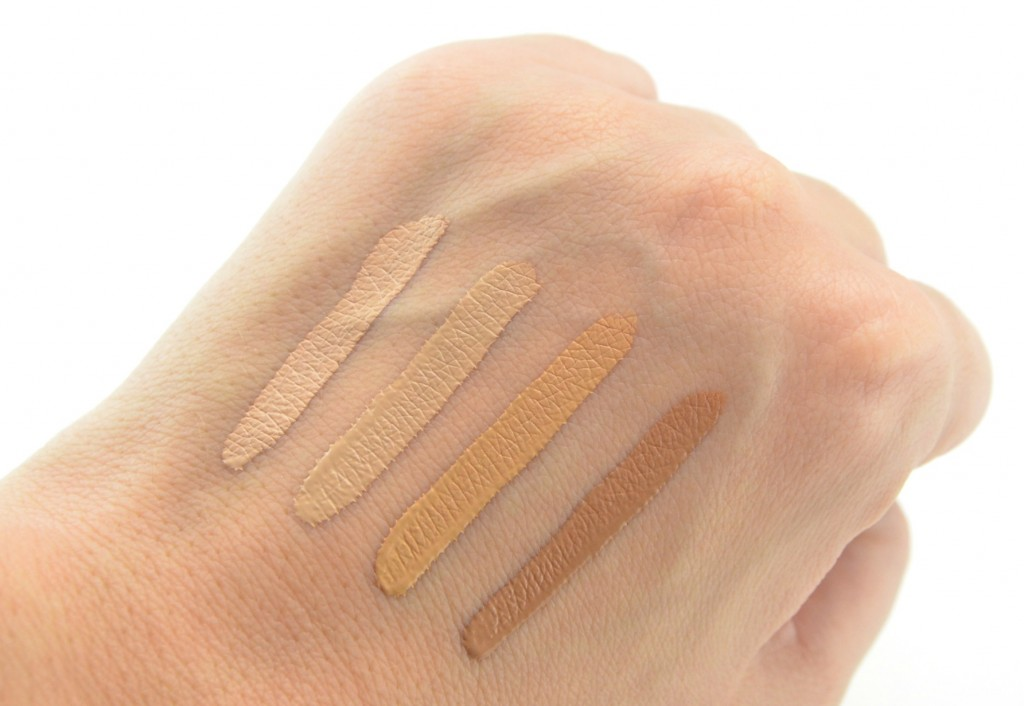 Urban Decay Naked Skin Weightless Complete Coverage Concealer swatch, urban decay concealer