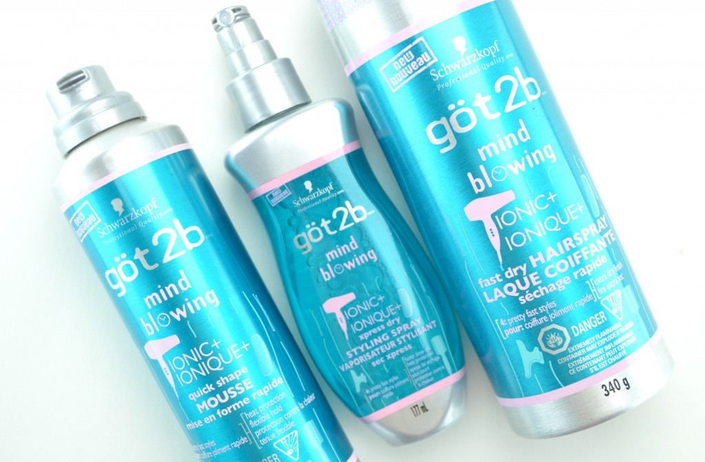 göt2b, Mind Blowing, göt2b Mind-Blowing Fast Dry Hairspray, hairspray, Quick Shape Mousse