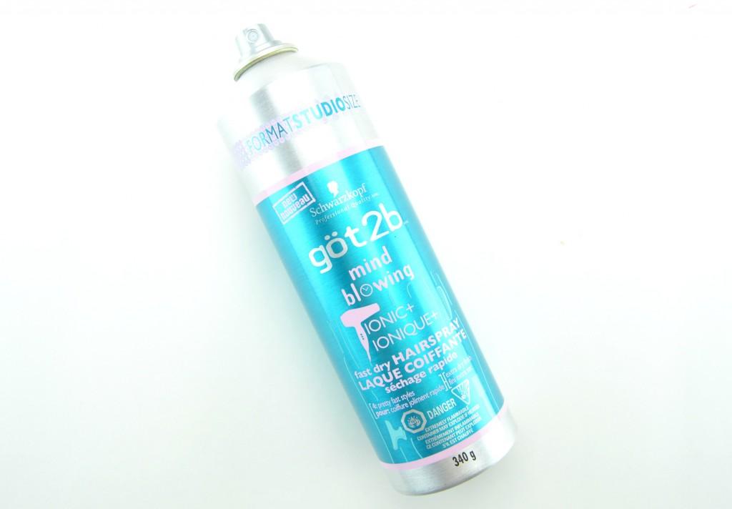 göt2b Mind-Blowing Fast Dry Hairspray