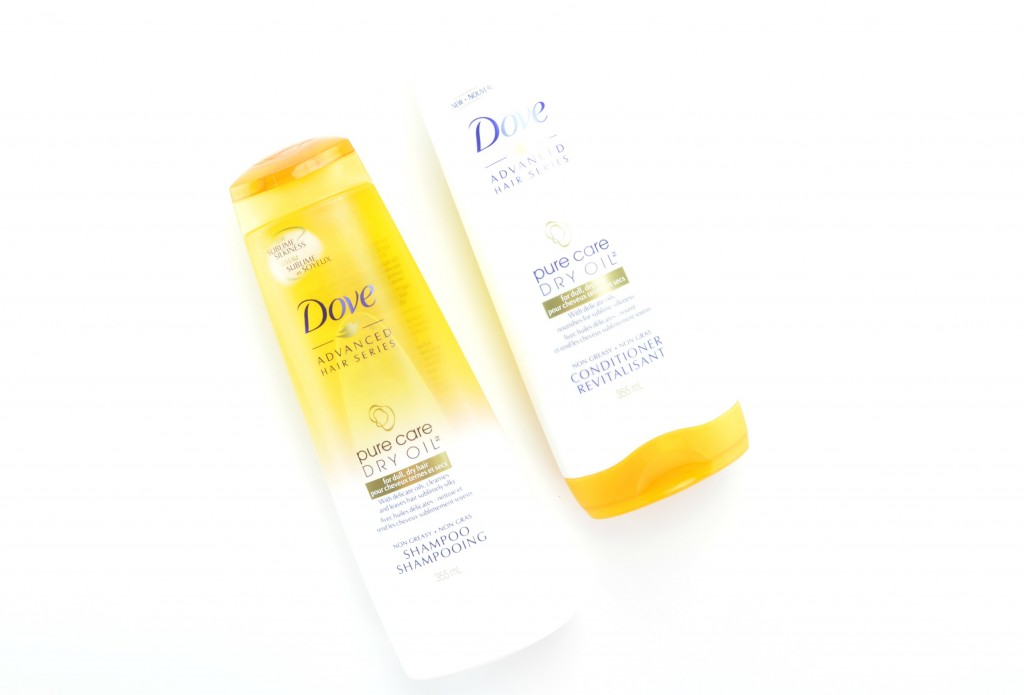 Dove Pure Care Dry Oil Shampoo