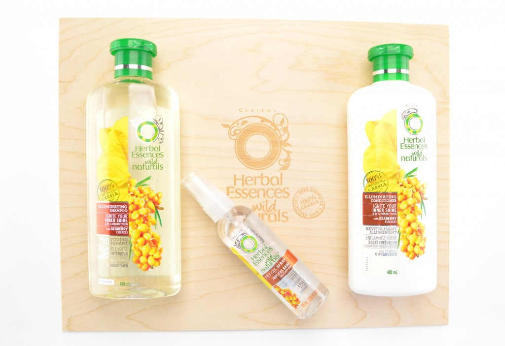 Herbal Essences Wild Naturals Illuminating Collection