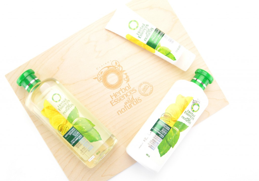 Herbal Essences Wild Naturals Detoxifying Collection