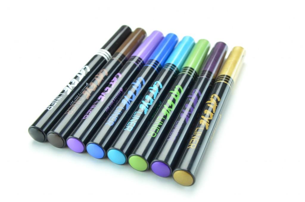 Jordana eyeliner, Cat Eye Liner Liquid Eyeliner, liquid liner, liqid eyeliner, metallic eyeliner