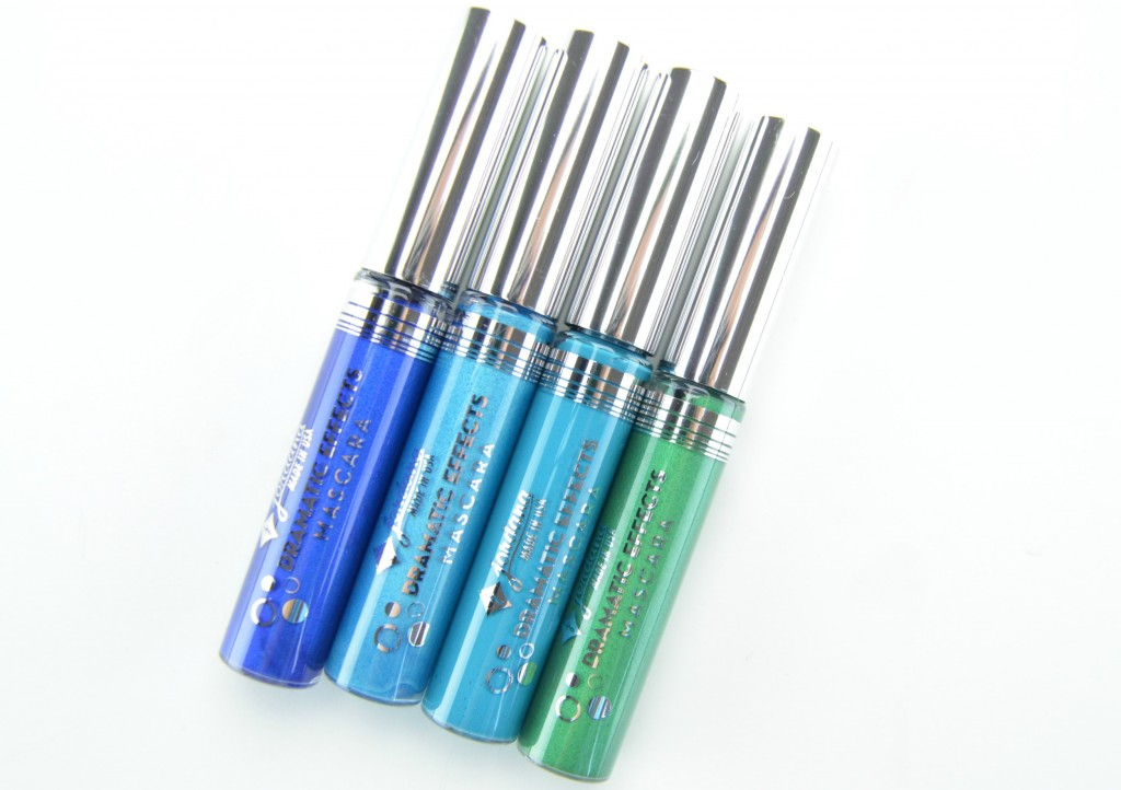 Jordana mascara, Longwear Dramatic Effects Mascara, dramatic mascara, colour mascara