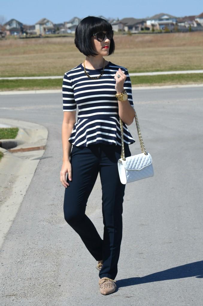 D&G Sunglasses, SmartBuyGlasses, navy pants, smart set pants, taupe flats, miz mooz shoes, shoe giveaway, Canadian giveaway, Canadian fashion blogger