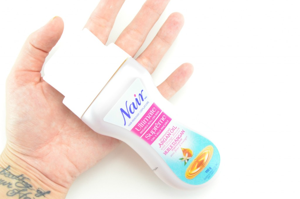 Nair Moroccan Argan Oil Roll-On Body Wax, nair, at home hair removal, hair removal, wax strips, roll-on wax