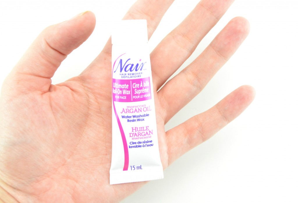 Nair Moroccan Argan Oil Ultimate Roll On Face Wax, face wax, roll-on face wax, nair face wax