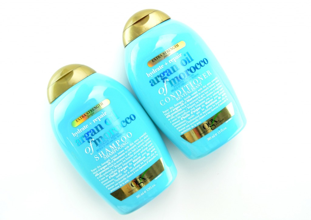 OGX Hydrate + Repair Argan Oil of Morocco Extra Strength Shampoo and Conditioner