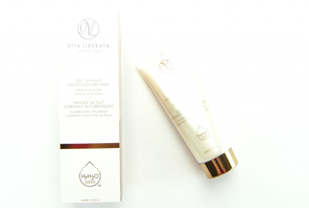 Vita Liberata Self Tanning Night Moisture Mask, Vita Liberata, self tanner, tanning mask, canadian beauty blog