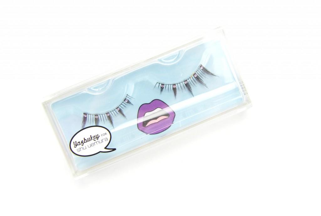 Shu Uemura eyelashes, False Eyelashes, YazBukey for Shu Uemura Dazzling Tina False Eyelashes, dazzling tina, shu uemura false eyelashes