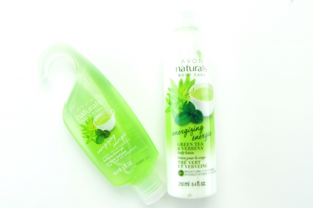 Natural Energizing Green Tea and Verbena