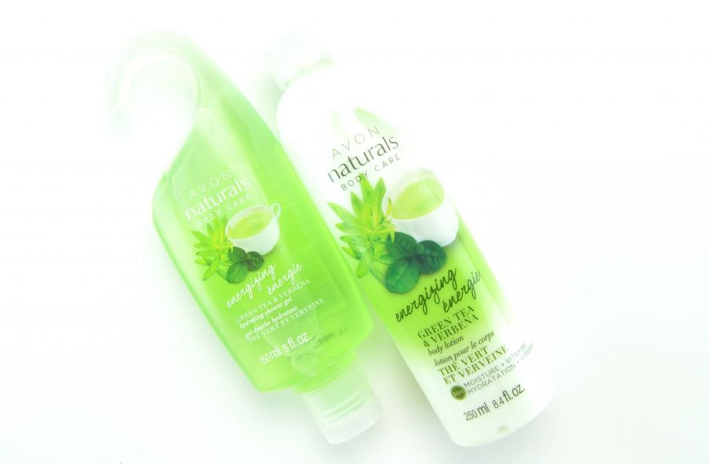 Avon Natural Energizing Green Tea and Verbena Collection Review