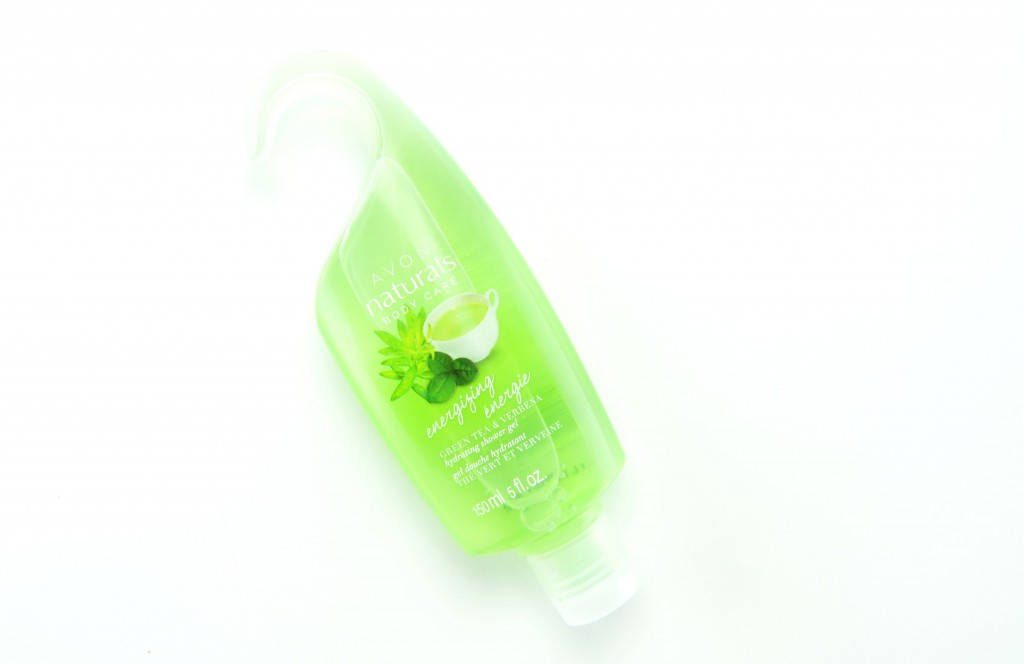 Avon Natural Energizing Green Tea and Verbena Hydrating Shower Gel