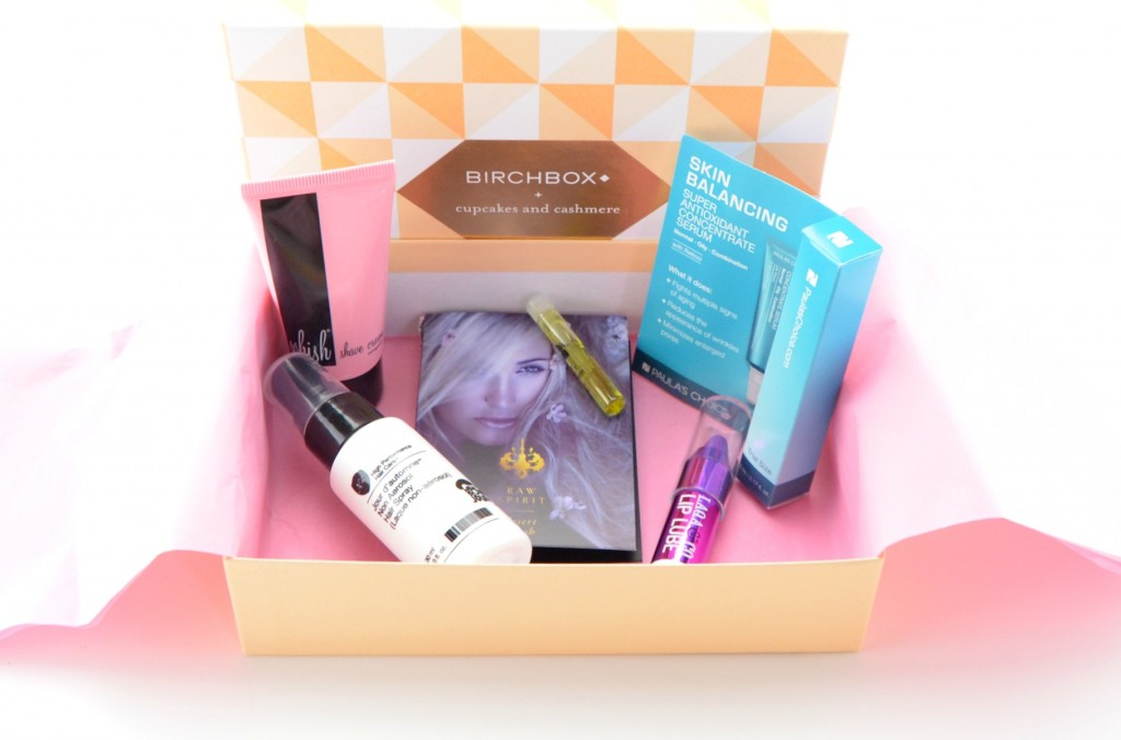 Cupcakes and Cashmere Birchbox Review