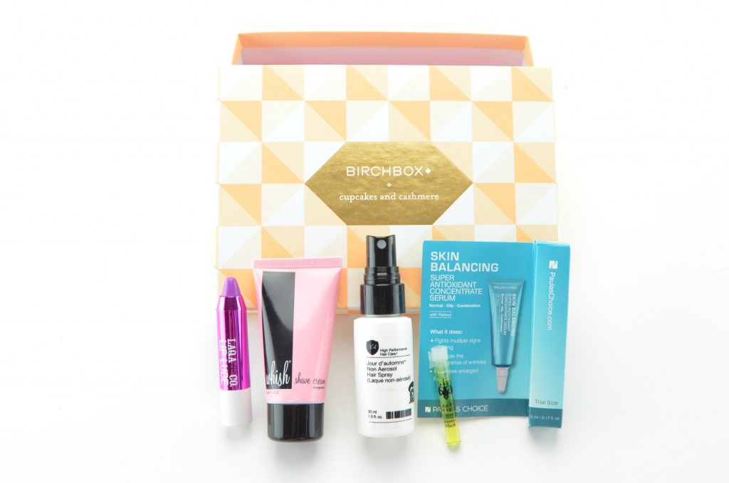 Birchbox canada, birchbox may review