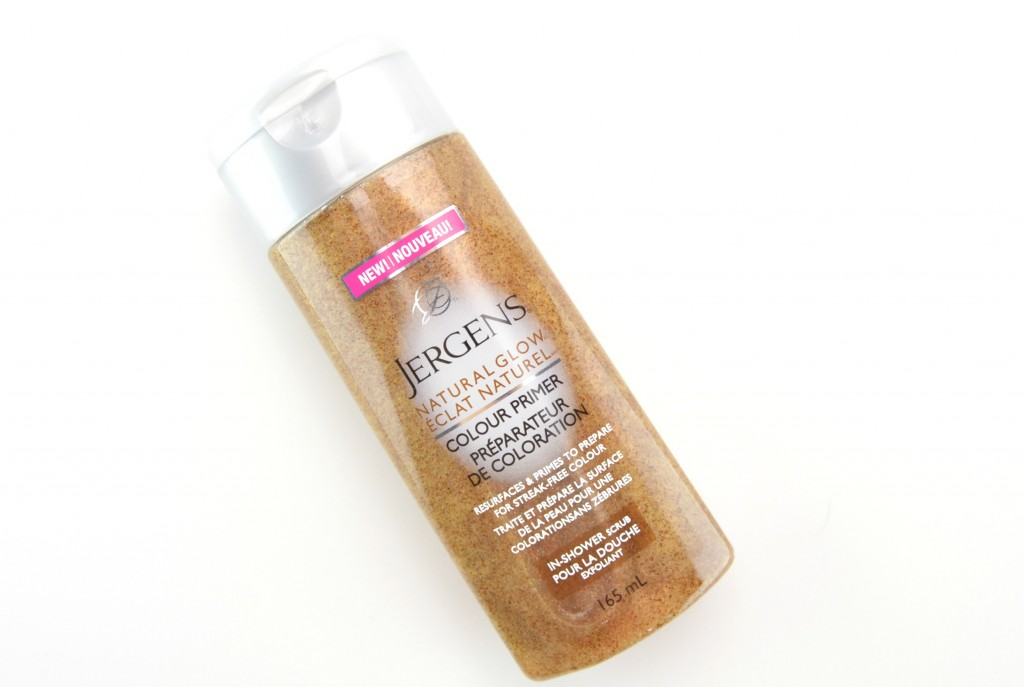 Jergens Natural Glow Colour Primer In-Shower Scrub