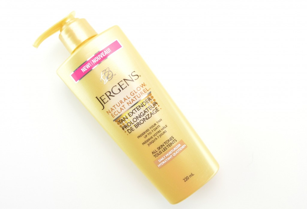 Jergens Natural Glow Tan Extender Daily Moisturizer