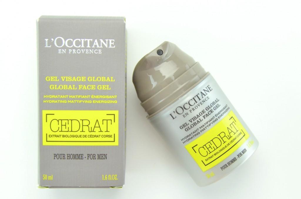 L'Occitane Cedrat Global Face Gel, l'occitane face cream, l'occitane for men