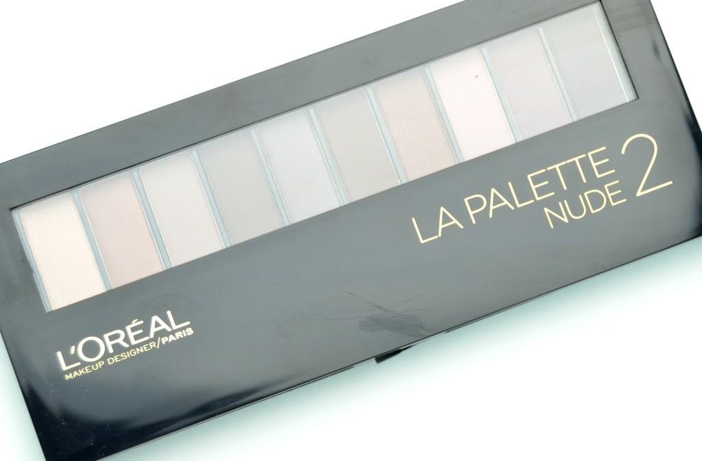 L'Oreal La Palette Nude by Colour Riche Nudes