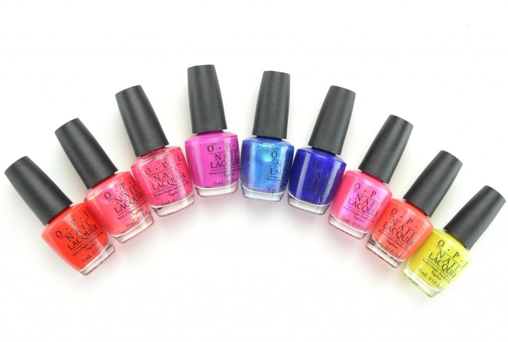 OPI Brights, OPI 2015, OPI nail polish, summer 2015 nail polish, nail polish blogger
