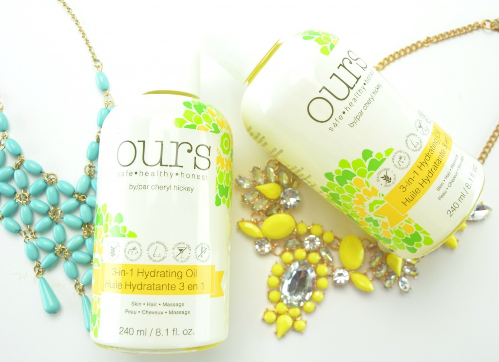 Ours by Cheryl Hickey 3-in-1 Hydrating Oil