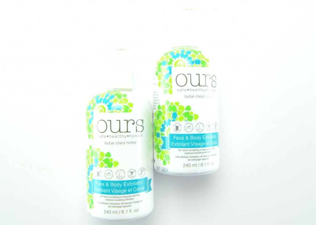 Ours by Cheryl Hickey Face & Body Exfoliator