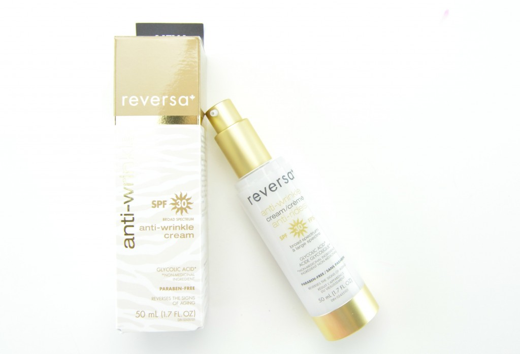 Reversa Anti-Wrinkle Cream with SPF 30 Review