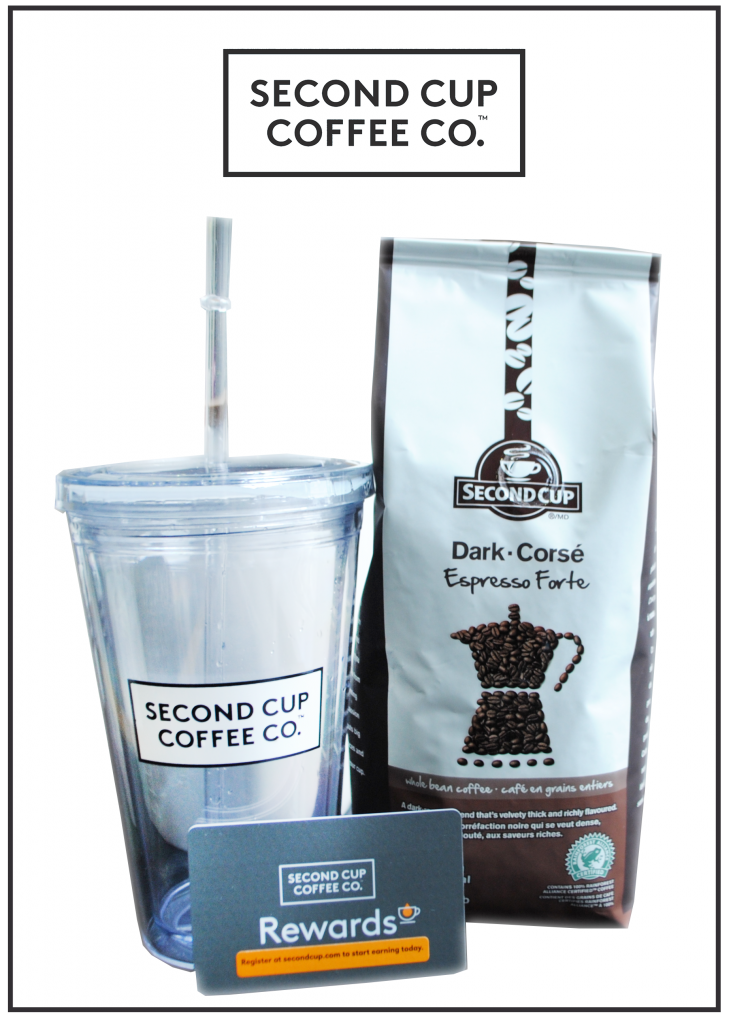 Second Cup Coffee Co Frappé Giveaway