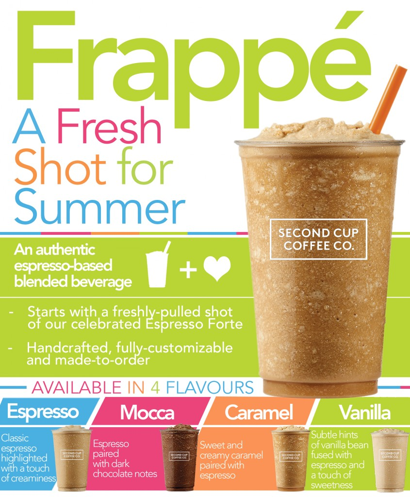 Second Cup Coffee Co Frappé
