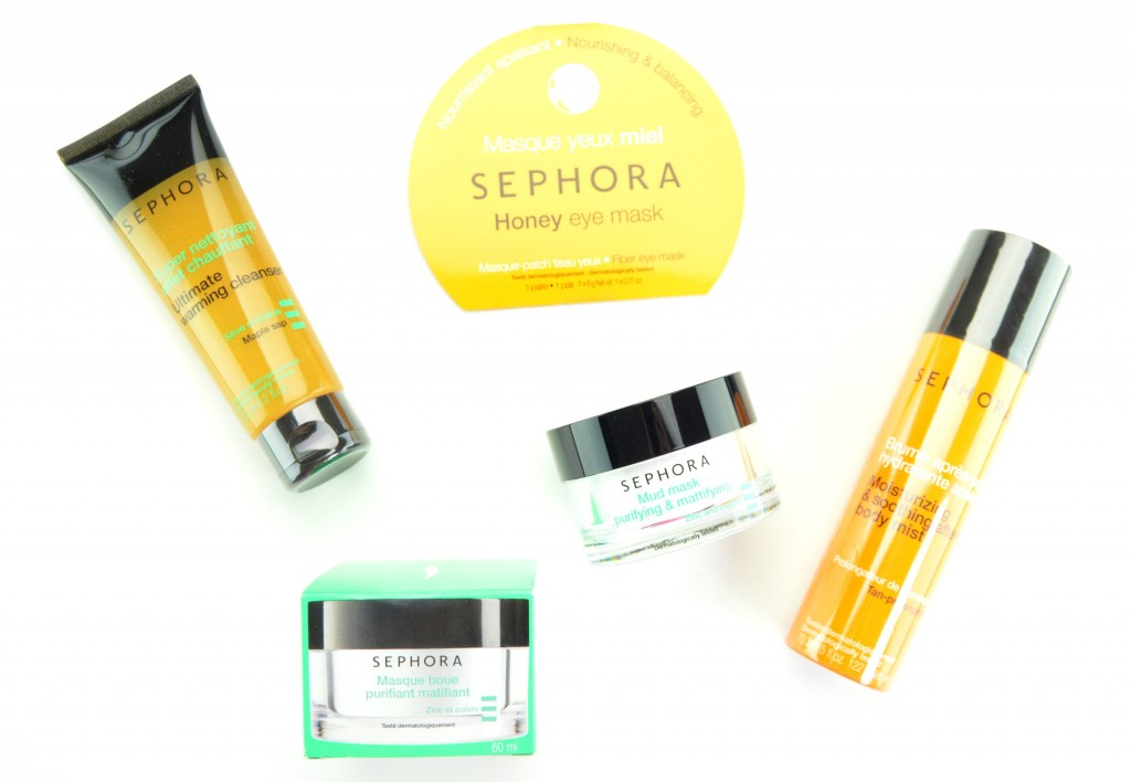 Sephora Collection Skincare for Summer 2015 Review