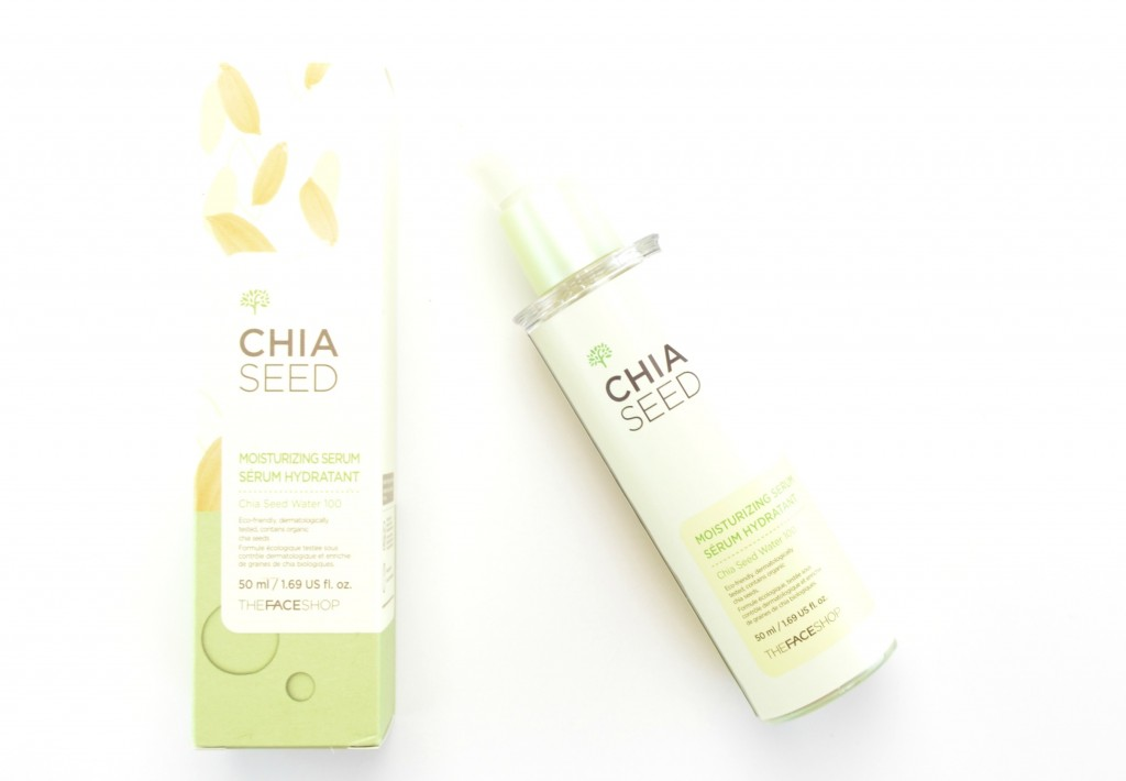THEFACESHOP Chia Seed Moisturizing Serum