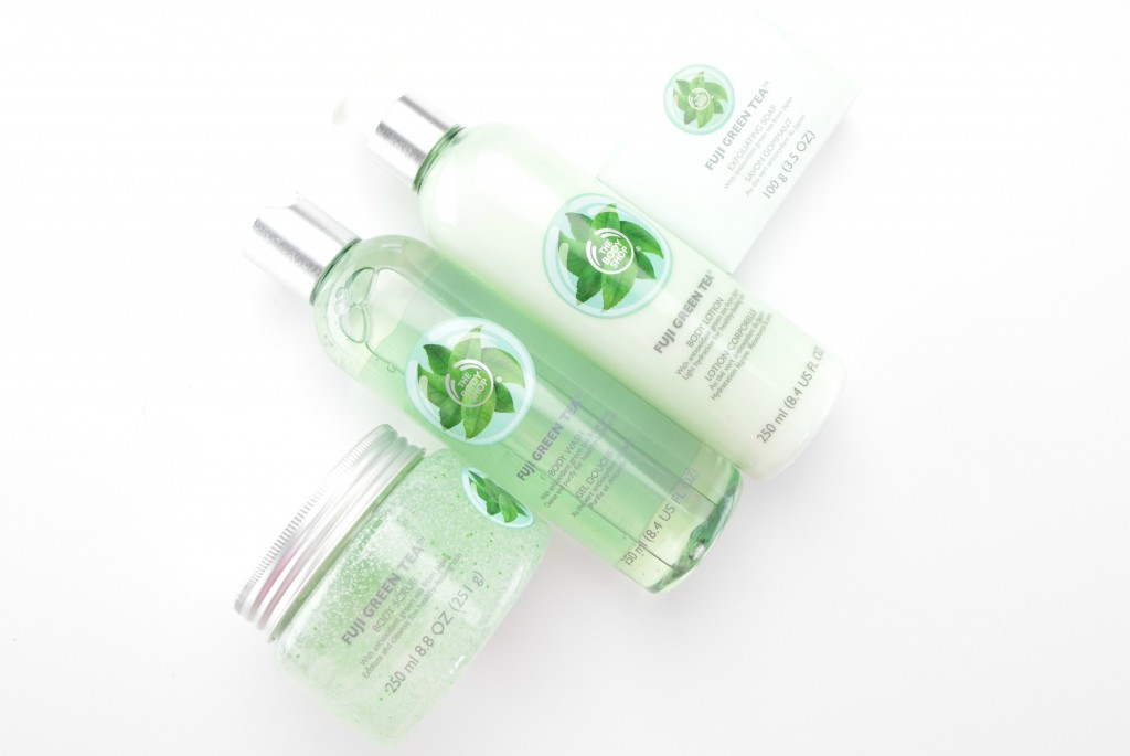 The Body Shop Fiji Green Tea Collection Review