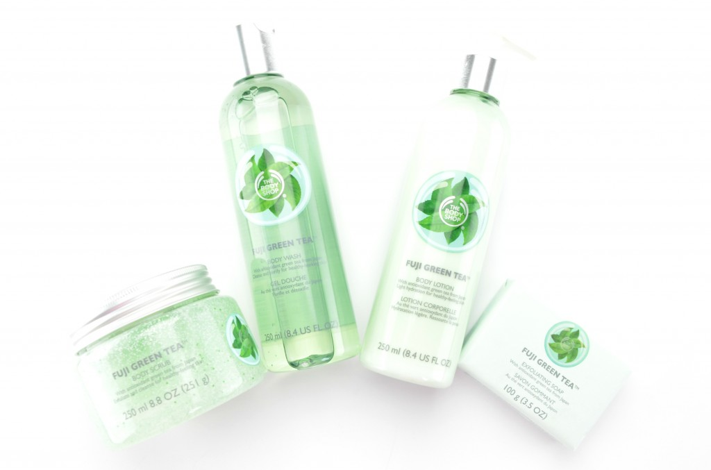 the body shop summer 2015, body shop green tea, green tea skincare collection, body shop green tea collection
