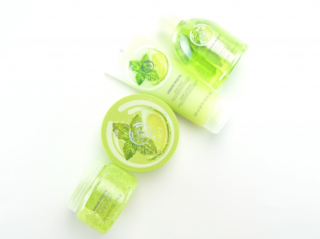 The Body Shop Virgin Mojito Collection Review
