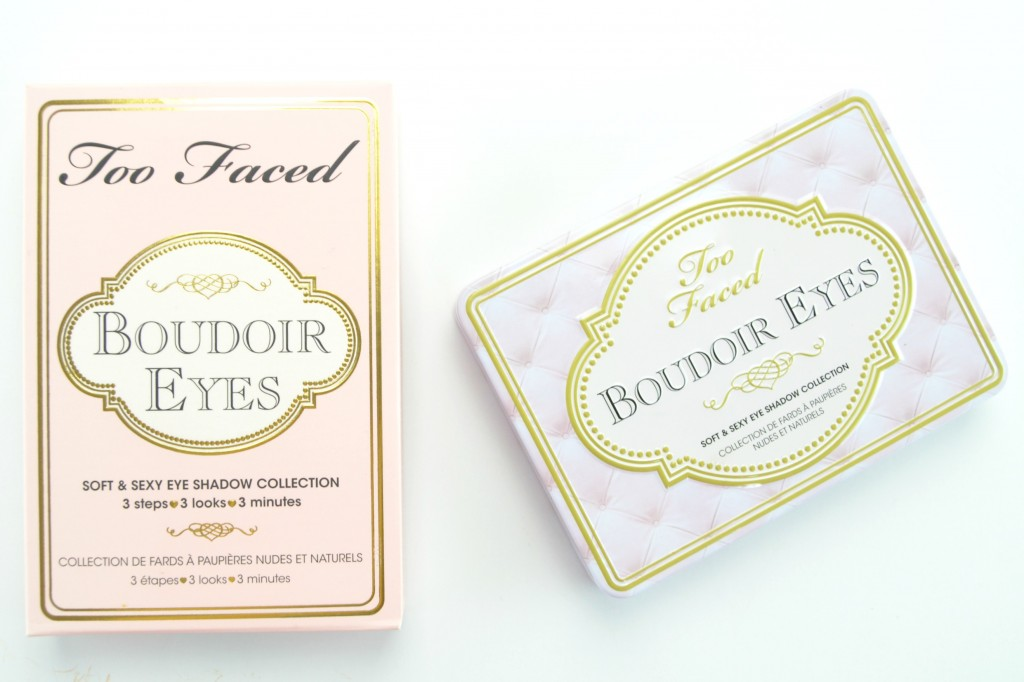 Too Faced Boudoir Eyes Review