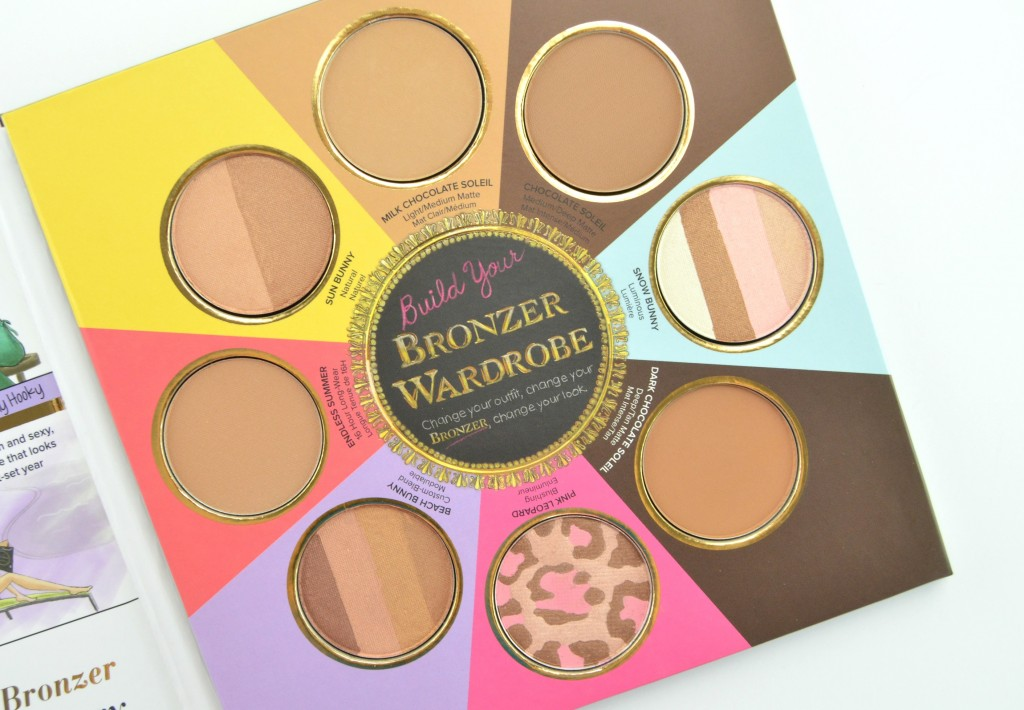 Too Faced bronzer,  The Little Black Book of Bronzers