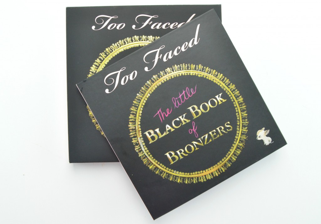 Too Faced bronzer, too faced bronzers, Little Black Book of Bronzers, book of bronzers