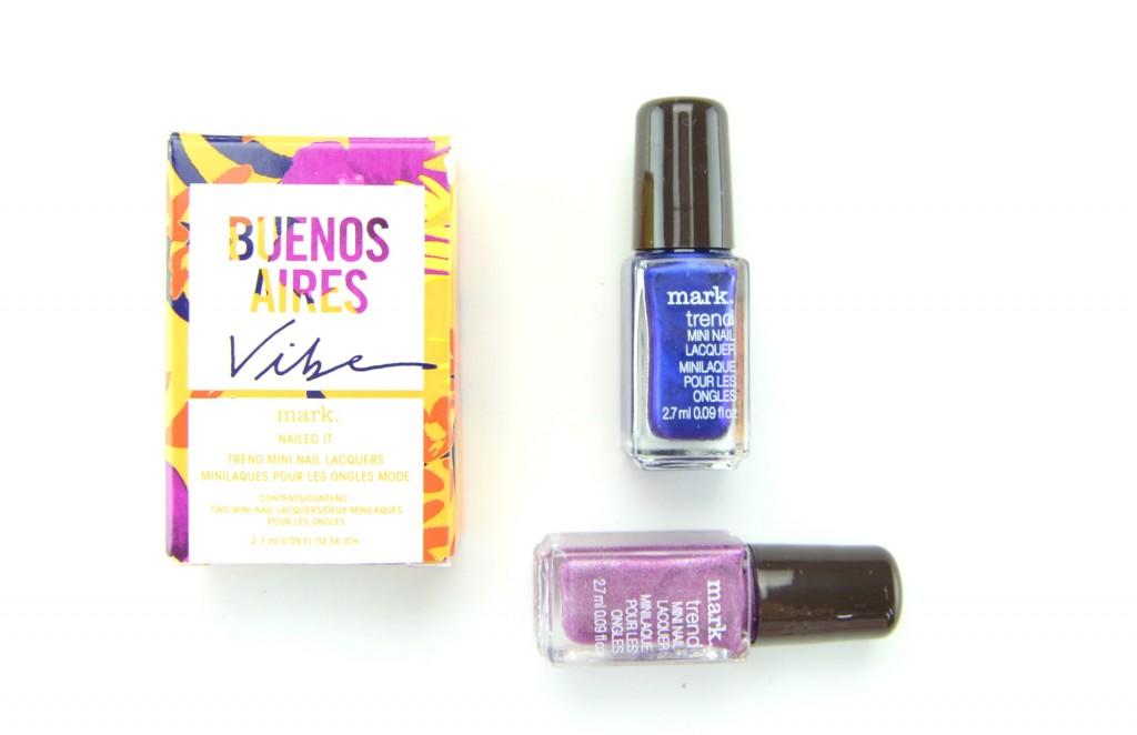 mark. Buenos Aires Vibe Nailed It Trend Mini Nail Lacquers, nail this look, avon nail polish, mark. nail polish, avon nail this look