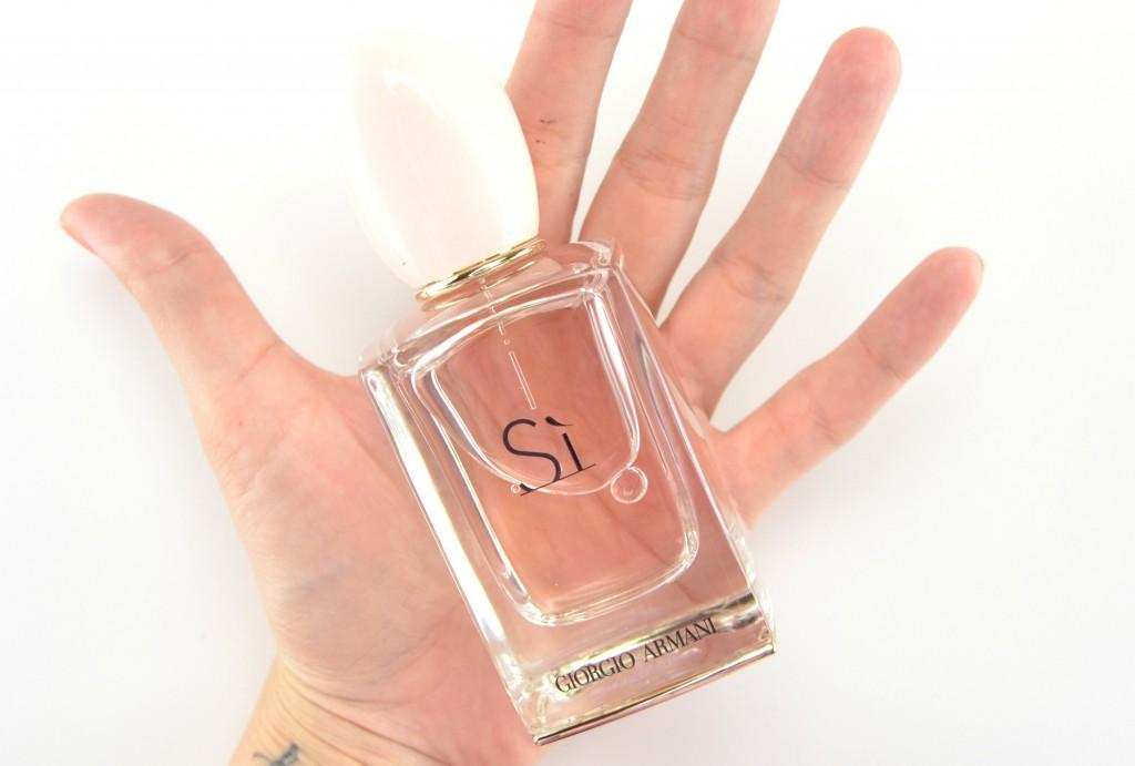 Giorgio Armani perfume, Sì perfume, Giorgio Armani fragrance, Sì fragrance, perfume blogger