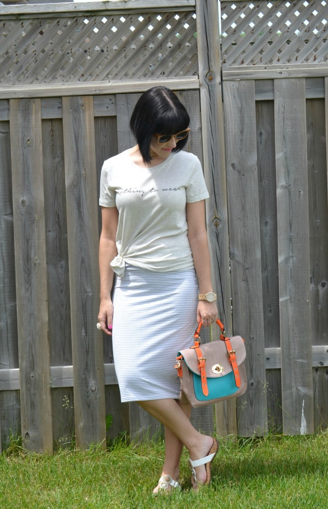 Canadian fashionista, Wood Sunglasses, Polette sunglasses, forever 21 tee, vegan purse, Pixi Mood, wood watch, #JORDWatch, Vionic sandals, white maxi skirt
