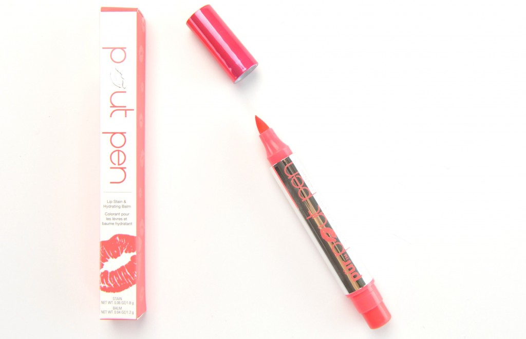 Pür Minerals Pout Pen is a 2-in-1 lip stain and hydrating lip balm, Pür Minerals Pout Pen, 2-in-1 lip stain, pur minerals hydrating lip balm, pur minerals lip balm