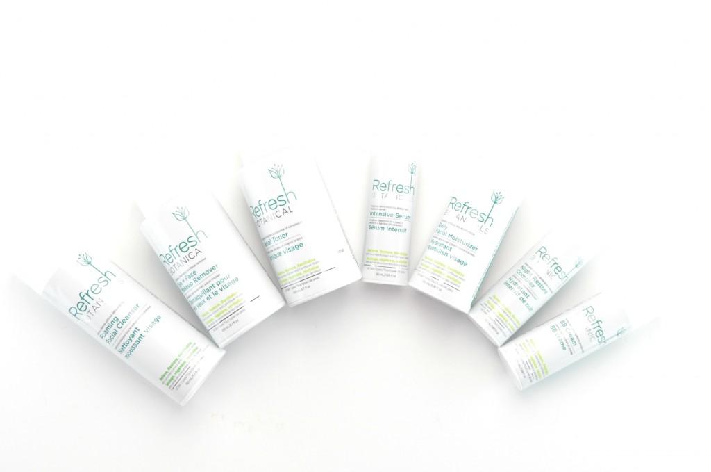 Refresh Botanical skincare, canadian skincare line, canadian skin care