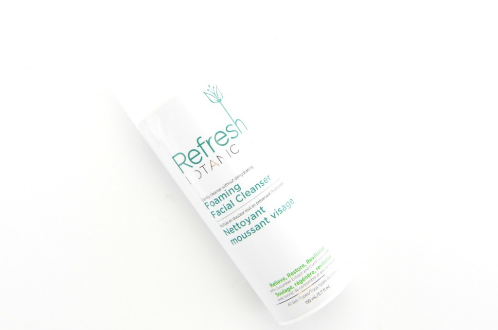 Refresh Botanicals Foaming Facial Cleanser