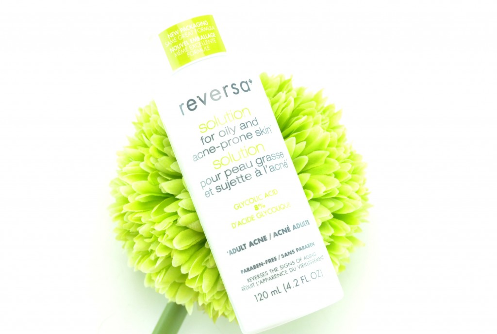 Reversa Solution, Oily and Acne-Prone Skin, reversa, canadian beauty blogger