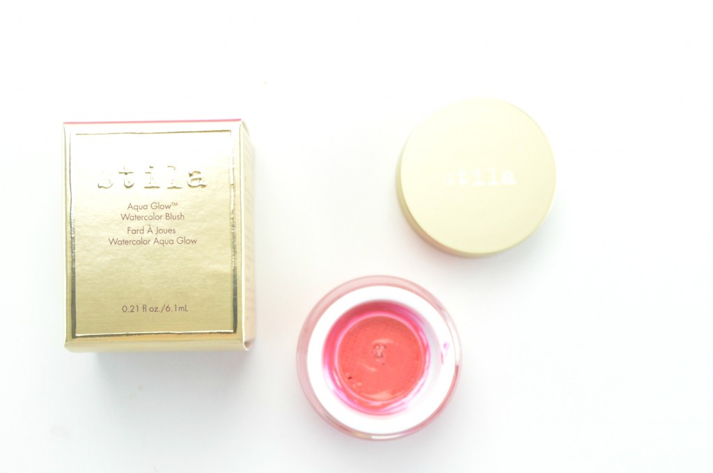 Stila Aqua Glow, Watercolor Blush, stila blush, canadian beauty blogger