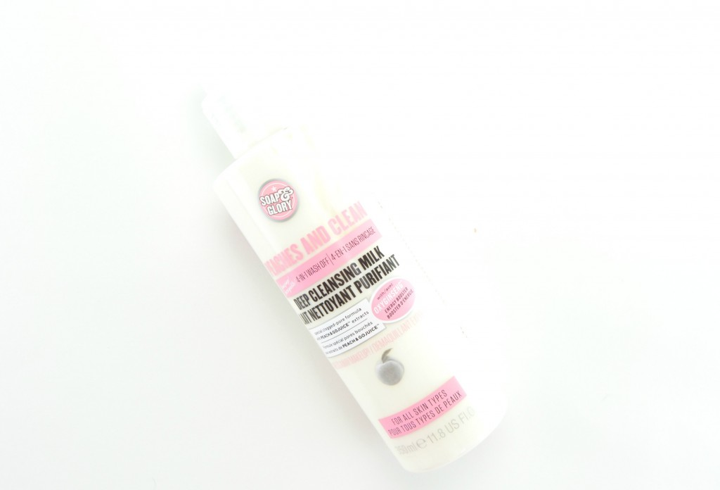 Soap & Glory Peaches & Cream Deep Cleansing Milk