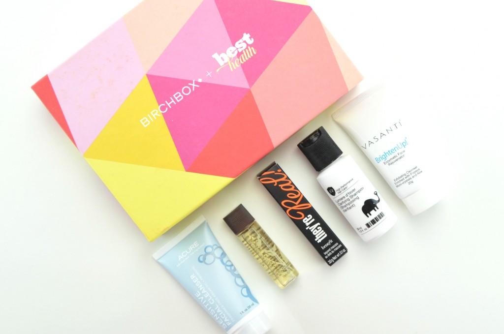 BirchboxxBestHealth, Birchbox Canada, Birchbox, Best Health Magazine, beauty box review, canadian beauty blogger