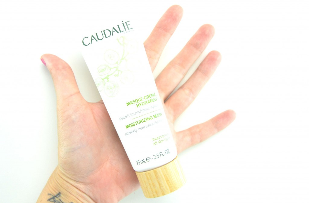 Caudalie mask review, Moisturizing Mask